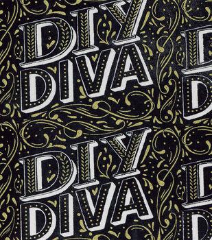Novelty Cotton Fabric-DIY Diva
