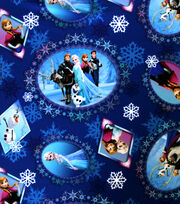 Disney Frozen Scenic Patch Twill Polyester Fabric, , hi-res
