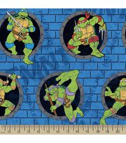 Teenage Mutant Ninja Turtles Print Fabric-Power Sewer Hole, , hi-res