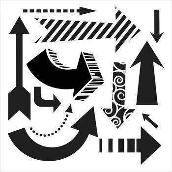 Crafter's Workshop Templates Susana's Arrows