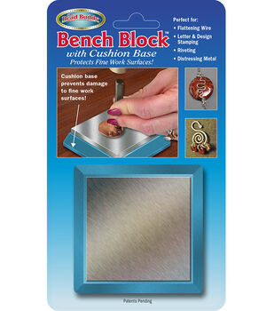Bench Block With Silicone Cushion