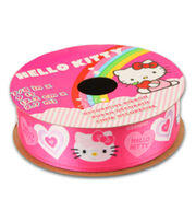 Hello Kitty Valentines Ribbon-Pink Solid Heart, , hi-res