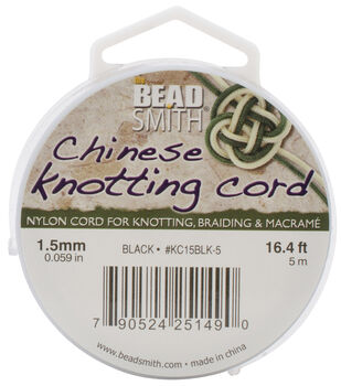 Black -knotting Cord 1.5mm