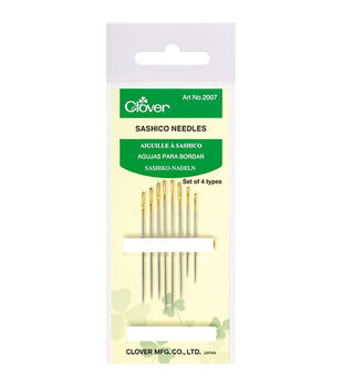 Clover® Sashico 8ct Needles-Assorted Sizes