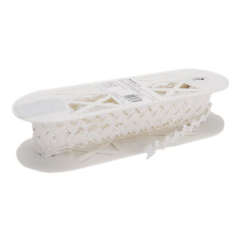 """Polyester Rick Rack 1/2"""" Wide 15 Yards-White"""