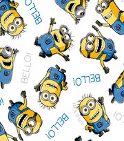 Minions - White Allover Cotton, , hi-res