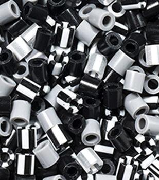 Perler Striped Beads 1000/Pkg-Newsprint