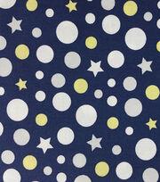 Magic Moon™-Leo & Phin Dots & Stars Cotton  , , hi-res