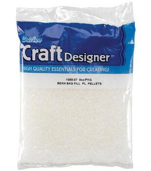 Darice Bean Bag Fill Plastic Pellets-8 oz.