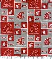 Washington State University NCAA  Cotton Fabric, , hi-res