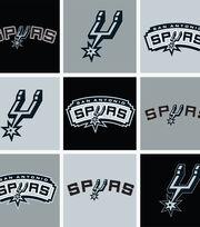 San Antonio Spurs NBA  Fleece Fabric, , hi-res