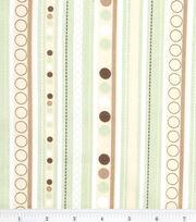 Nursery Fabric Monkey Stripe, , hi-res