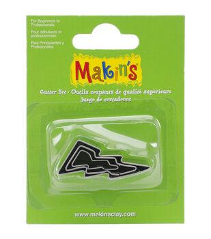 Makin's Clay Lightning Bolt Cutters