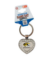 University of Missouri NCAA Heart Keychain, , hi-res