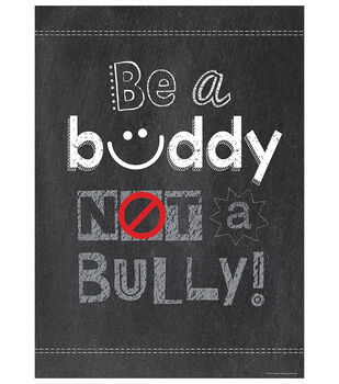 Be a Buddy Not a Bully…Inspire U Poster