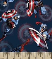 Marvel's The Avengers Print Fabric-Captain America, , hi-res