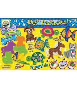 Creative Kid Value Gift Box Bead Activity Kit-Pet Parade