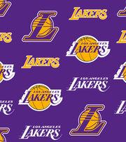 Los Angeles Lakers NBA  Fleece Fabric, , hi-res