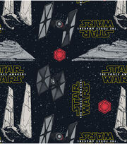 Star Wars VII Villains Ships Feece Fabric, , hi-res
