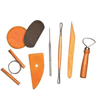 Pro Art Pottery Tool Kit-8pcs
