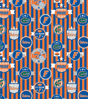 University of Florida NCAA Terry Velour Fabric, , hi-res