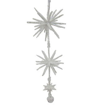 Maker's Holiday Three Snowflake Ornament