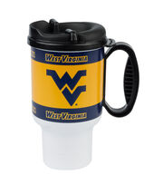 West Virginia University NCAA 20oz Travel Mug, , hi-res