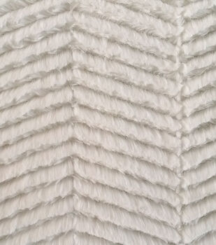 Luxury Faux Fur-Chevron Fur Fabric