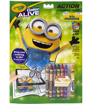 Crayola Color Alive Action Coloring Pages-Minions, , hi-res