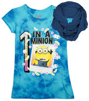 One in a Minion Shirt with Scarf, , hi-res