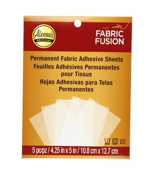 Aleene's Fabric Fusion Sheets Peel & Stick