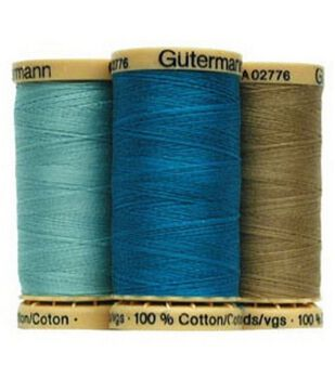 Gutermann 100% Natural Cotton Sewing 250M