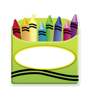 Busy Kids Learning Large Accents-Crayons