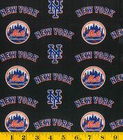 New York Mets MLB Cotton Fabric, , hi-res