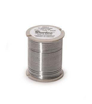 Bead Wire Slvr 24G/24 Yds