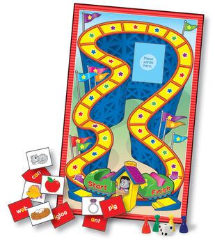 Language Arts Learning Games Board Game- Grade K