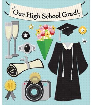 K & Company Stickers-Graduation
