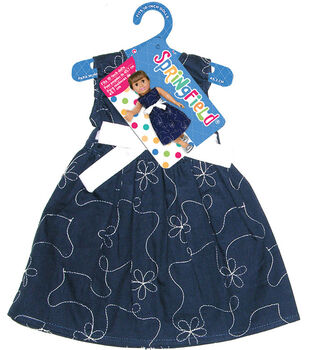 Springfield Boutique Party Dress-Navy