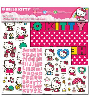 Hello Kitty Page Kit