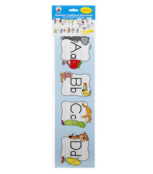 Carson Dellosa Alphabet Bulletin Board Set