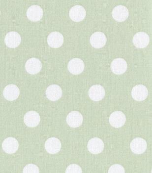 Nursery Fabric Baby Basics Dot Print