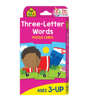 Game Cards-Three-Letter Words