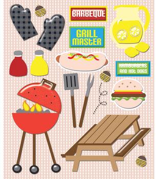 Sticker Medley-BBQ