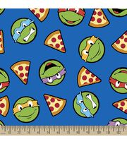 Teenage Mutant Ninja Turtles Print Fabric-Turtles and Pizza, , hi-res