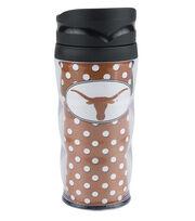 University of Texas NCAA Polka Dot Travel Mug, , hi-res