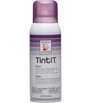 Design Master Tint IT Transparent Dye Spray Paint 10oz
