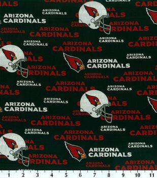 Arizona Cardinals NFL Cotton Fabric by Fabric Traditions