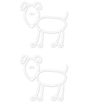 Plaid® Me&My Peeps Family Auto Decal-Big Dogs