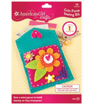 American Girl Sewing Kit-Coin Purse