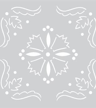 "Plastic Stencil 8""X8""-Kaleidoscope"